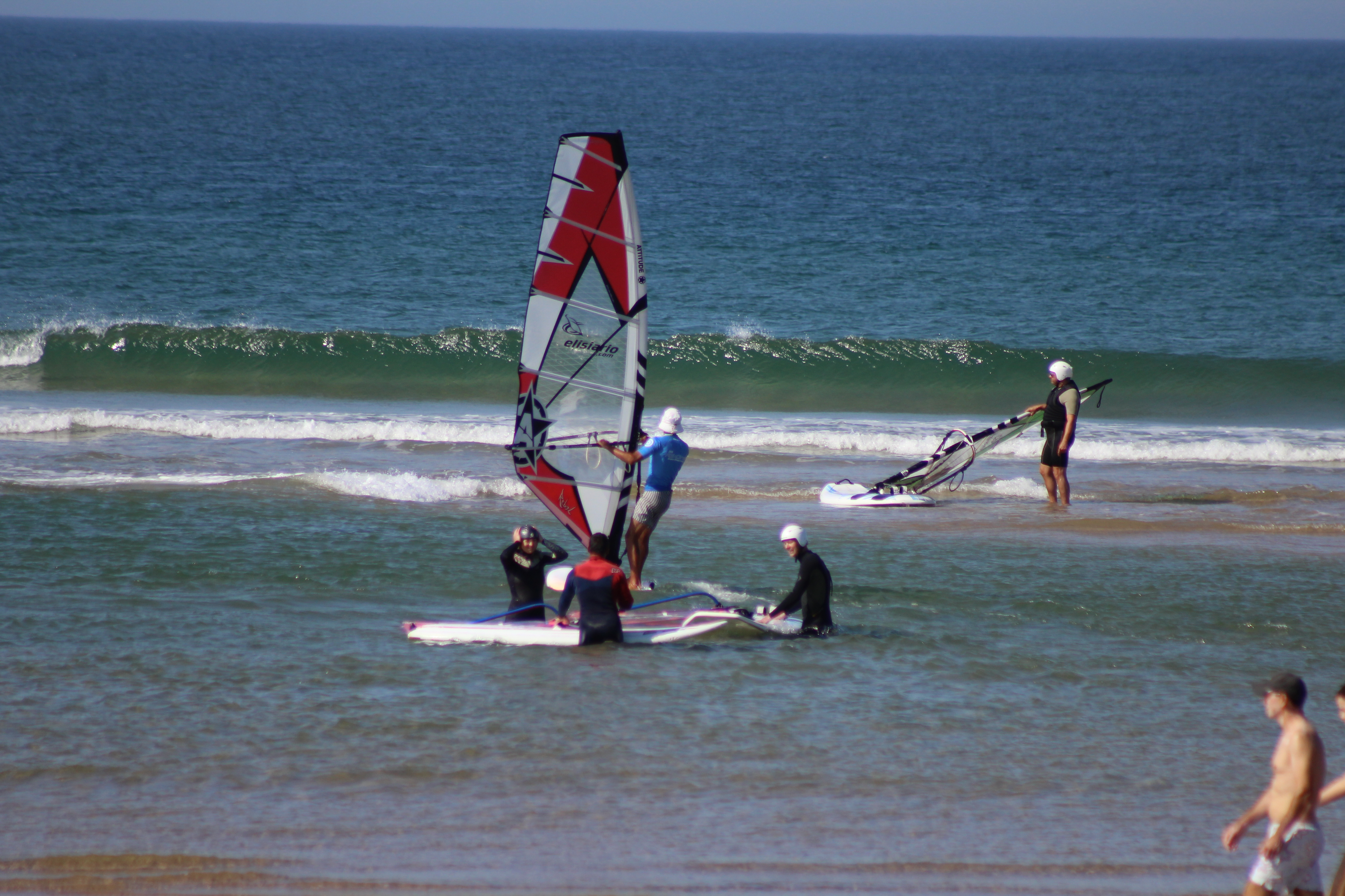 Initiation to Windsurf – Windsurfing Baptisms – Groups
